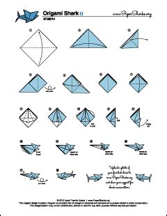 origami sharks pin origami shark diagram on