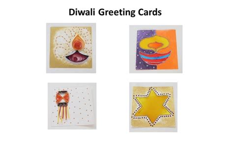 diwali cards to make 4 easy handmade diwali greeting cards ideas