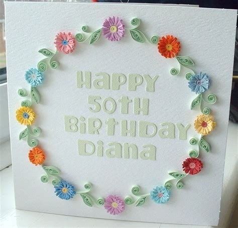 card with quilling items similar to handmade birthday card paper quilling