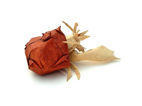 origami hermit crab 26 great origami models for when you re feeling a bit crabby
