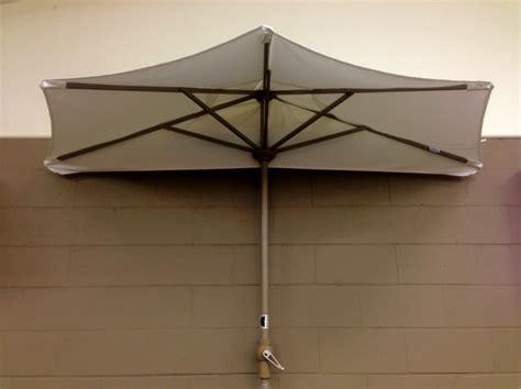 the wall patio umbrella half umbrella for patio icamblog
