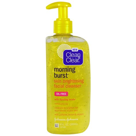 bursting clean and clear clean clear morning burst skin brightening