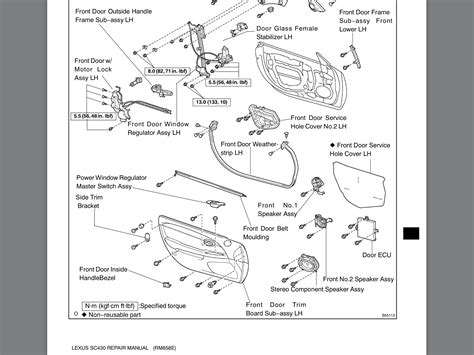 lexus gx470 rear door parts diagram lexus auto wiring diagram lexus door handle parts diagram lexus auto wiring diagram