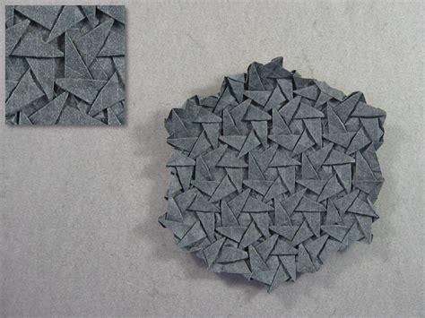 daniel kwan origami triangle tess pattern daniel kwan happy folding