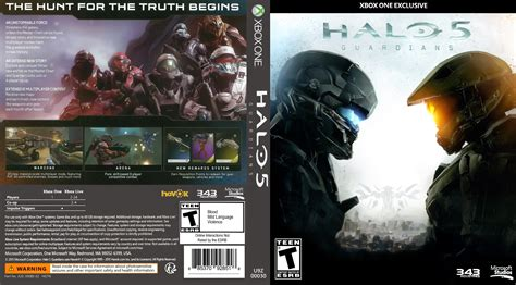one covers halo 5 guardians dvd cover 2015 usa xbox one