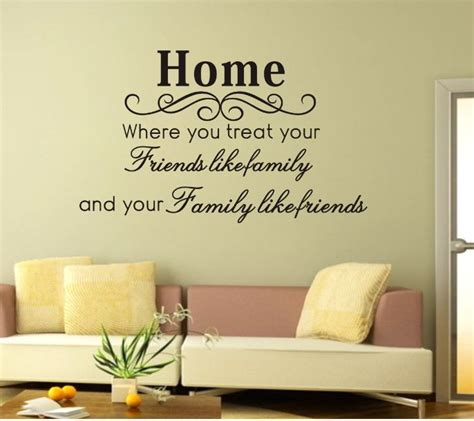 home stickers for walls decoration quote