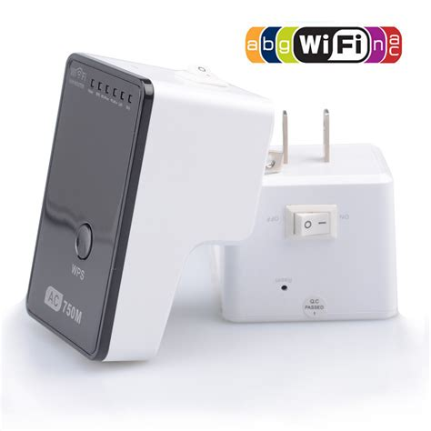 ac750 wifi range extender router reapter boosters 2 4ghz 5ghz dual band max 750mbps 802 11ac