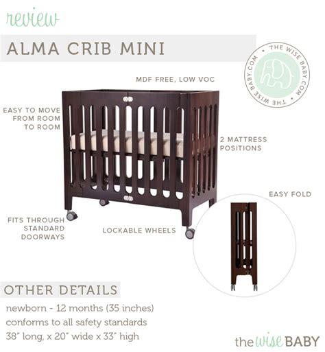 alma bloom mini crib bloom alma mini crib review the wise baby