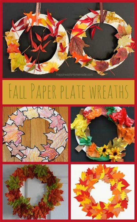 paper plate fall crafts 25 unique fall crafts for ideas on fall