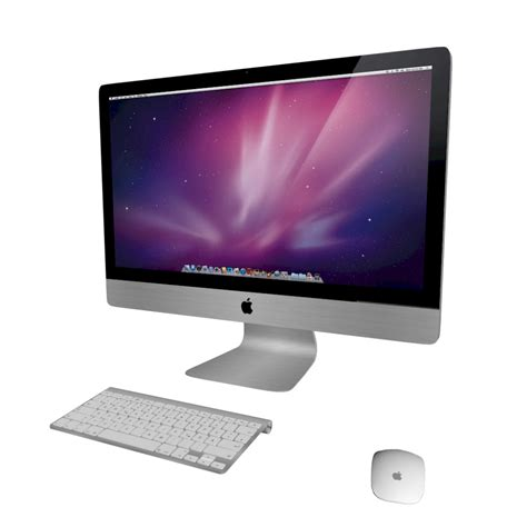 mac computer desk 27 quot imac with keyboard and mouse design and decorate