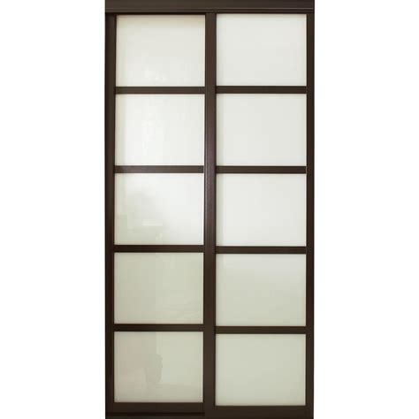 glass door panels contractors wardrobe 48 in x 96 in tranquility glass