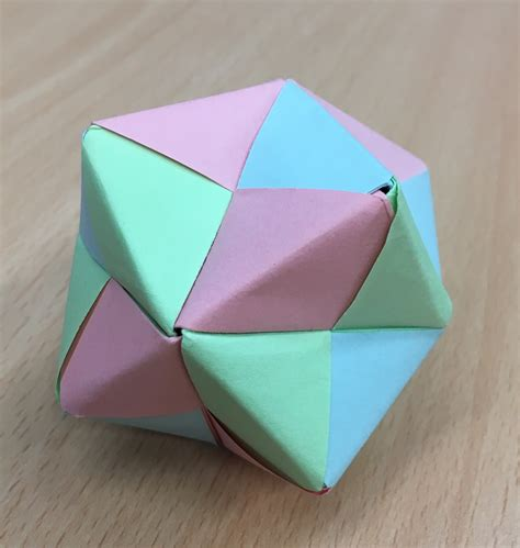 modular origami 12 units polypompholyx