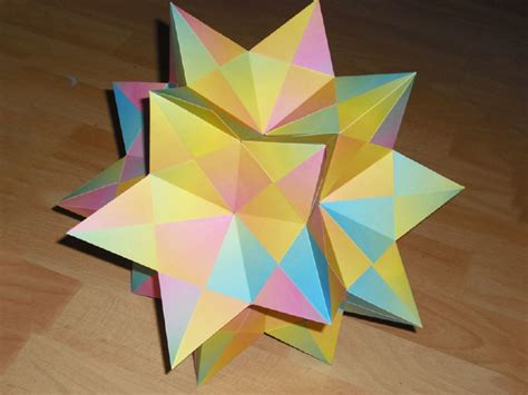 polyhedra origami my s mathematical origami make meow