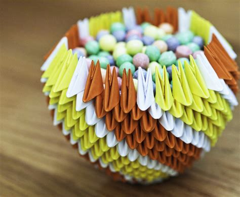 3d Origami Bowl By Gracy2227 On Deviantart