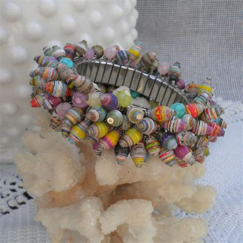 how to make paper bead jewelry pretty paper bead jewelry designs