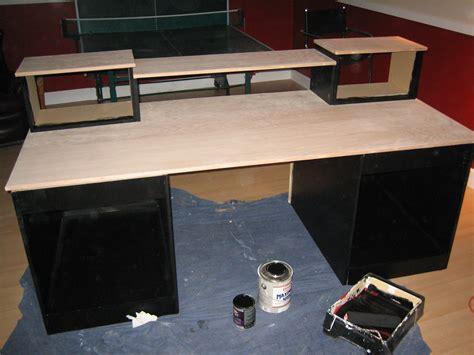 diy build a desk diy desk build inspired by many gearslutz