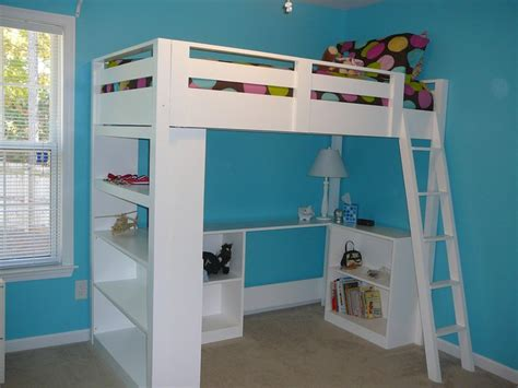 how to make a loft bed frame white how to build a loft bed diy projects