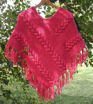 free poncho knitting patterns adults cable search and stitches on