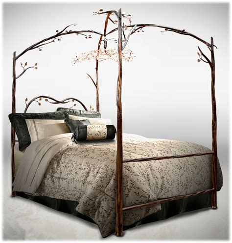 wrought iron canopy bed frame county iron works forged rod wrought iron beds