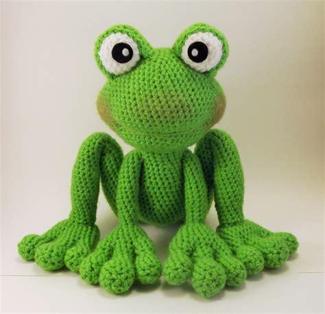 frog knitting pattern free froggy amigurumi pattern frog crochet pattern pdf file only