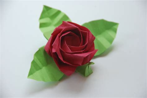 origami roses with stems origami kawasaki by lisadeng on deviantart