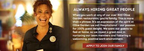 olive garden application employment resources application point