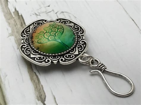 knitting pins lime green tree of magnetic knitting pin for