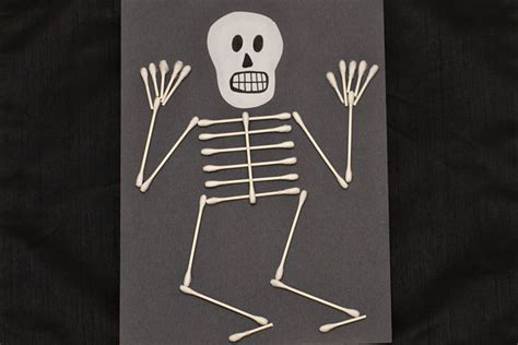 skeleton craft for 31 easy crafts for preschoolers thriving home