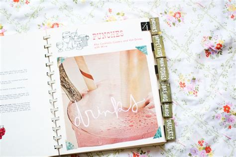 recipe book with pictures diy recipe book a beautiful mess