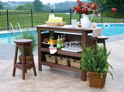 patio furniture bar table amish polywood bars dutchcrafters outdoor bars