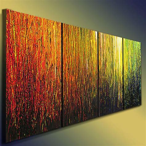 acrylic paint for large canvas abstract colorful original paintings acrylic 4 canvases 20