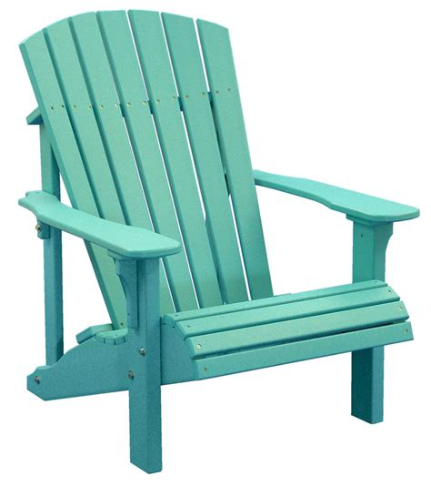 Luxcraft Adirondack Chairs by Luxcraft Poly Deluxe Adirondack Chair Swingsets Luxcraft