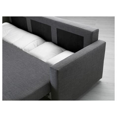 three seat sofa bed friheten three seat sofa bed skiftebo grey ikea