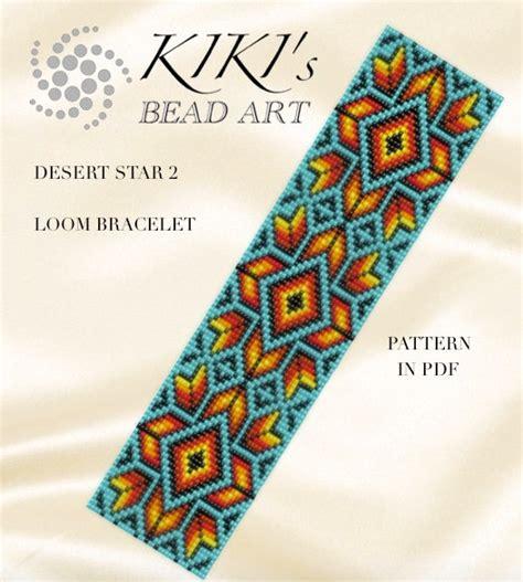 bead loom designs bead loom pattern desert 2 loom bracelet pattern in