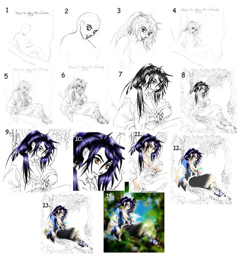 how to draw guide tutorial drawing anime guide by manic goose on deviantart