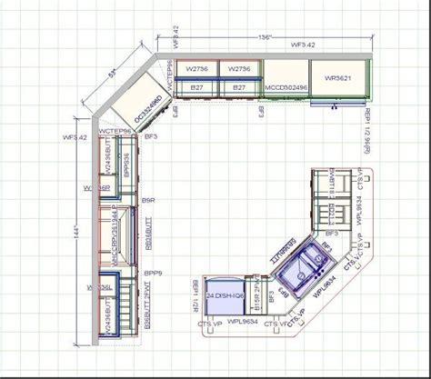 how to plan a kitchen cabinet layout best 25 kitchen layout design ideas on