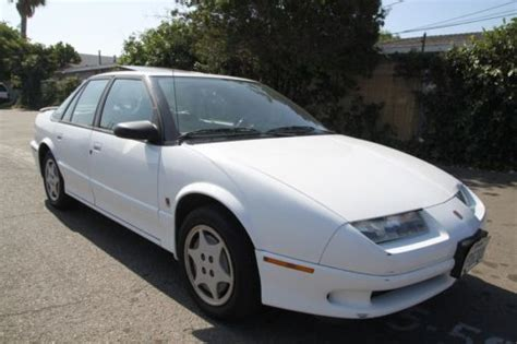 find used 1993 saturn sl sl2 manual 4 cylinder no reserve in orange california united states
