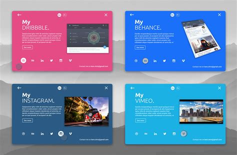 card materials for a card dribbble personal card material design animation jpg by