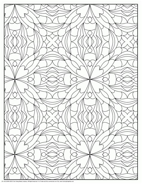 designs for adults geometric pattern coloring pages az coloring pages