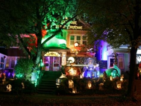 nightmare before decorated house house confidential bay view s haunted house 187 milwaukee