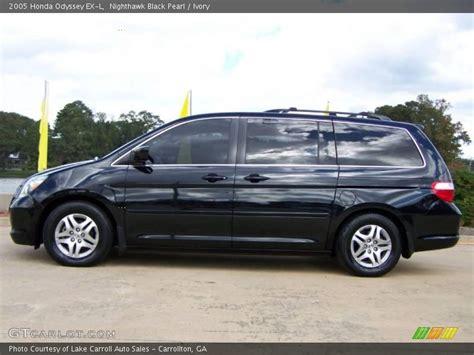2005 Honda Odyssey Ex L by 2005 Honda Odyssey Ex L In Nighthawk Black Pearl Photo No