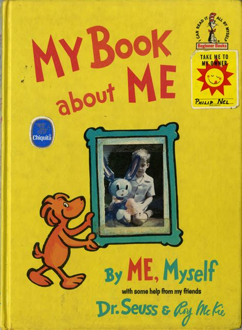 my picture book my book about me
