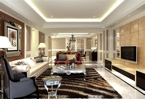 room styles european style living room design with carpet cabinet and