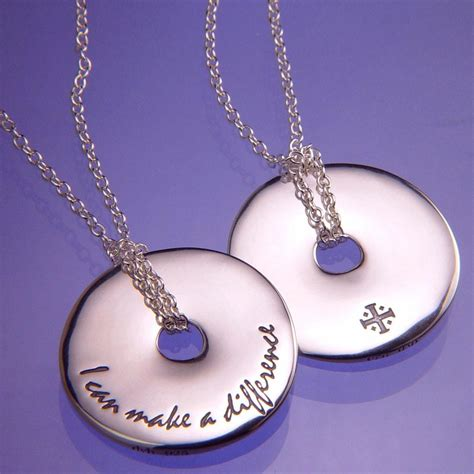 jewelry that makes a difference silver inspirational jewelry laurel elliott dvb ny