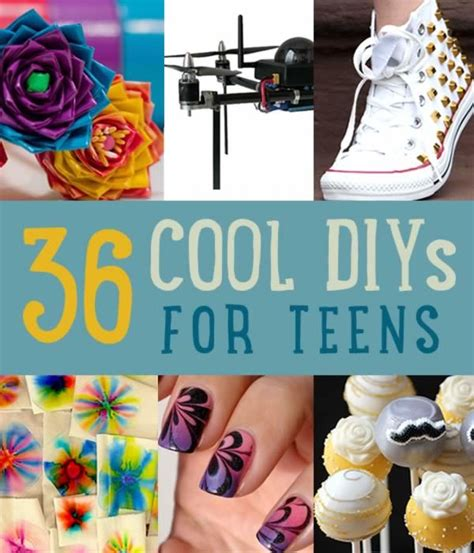 craft projects for teenagers 36 diy projects for teenagers cool crafts for diy