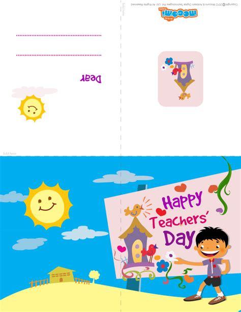 teachers day greeting card for happy teachers day greeting card for mocomi