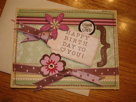 card ideas on marias handmade cards happy birthday handmade card idea