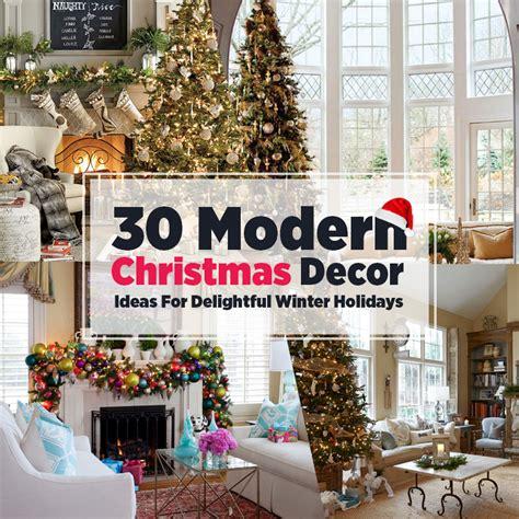 contemporary tree decorating ideas 30 modern decor ideas for delightful winter