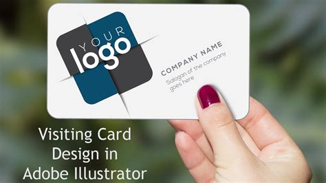 how to make business cards in illustrator cs6 illustrator tutorial business card design