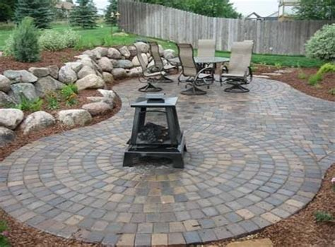 circular patio pavers paver patio ham lake mn photo gallery landscaping